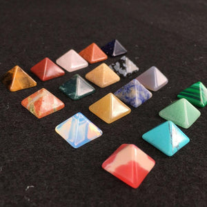 The Aligning Stone Pyramid Set (7 pieces) - Soul Sound Spirited