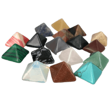Load image into Gallery viewer, The Aligning Stone Pyramid Set (7 pieces) - Soul Sound Spirited
