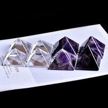 Load image into Gallery viewer, The Focused Meditation Pyramid - Crystal Range - Soul Sound Spirited