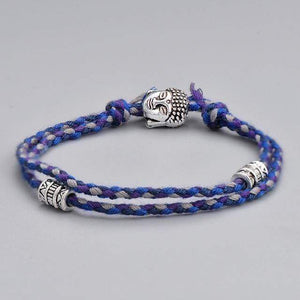 The Vibrant Buddhist Tibetan Charms Natural Rope Bracelet Varieties - Soul Sound Baths