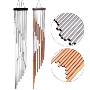 The 18 Tube Metallic Wind Chime - Soul Sound Baths