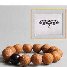 Load image into Gallery viewer, The Buddha Eyes Bodhi Seed Bracelet - Soul Sound Baths