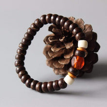 Load image into Gallery viewer, The Coconut Shell Lampwork Bracelet - Soul Sound Baths