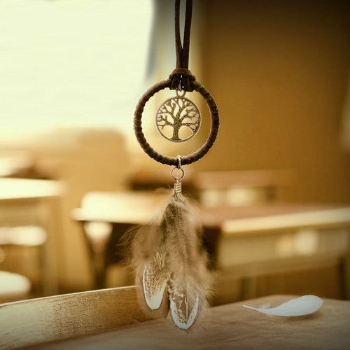The Handmade Mini Enchanted Forest Dream Catcher - Soul Sound Baths