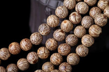Load image into Gallery viewer, The Handmade Natural Bodhi Seeds and Red Agate Stone Buddhist Mala Bead Necklace - Soul Sound Baths