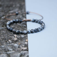 Load image into Gallery viewer, The Handmade Natural Faceted Labradorite Shamballa Gemstone Bracelet - Soul Sound Spirited