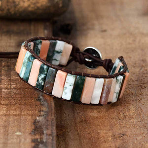 The Handmade Natural Jasper and Agate Stone Bracelet Varieties - Soul Sound Baths