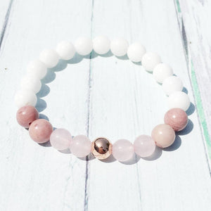 The Love and Compassion Bringing Mala Beads Bracelet - Soul Sound Baths