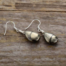 Load image into Gallery viewer, The Luminous Pyrite Elba Earrings - Soul Sound Baths