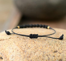 Load image into Gallery viewer, The Natural Handmade Lava Stone Boho Bracelet - Soul Sound Baths