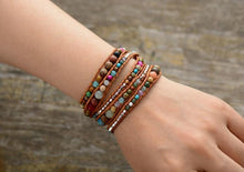 Load image into Gallery viewer, The Natural Handmade Mixed Gemstone Wrap Bracelet - Soul Sound Spirited