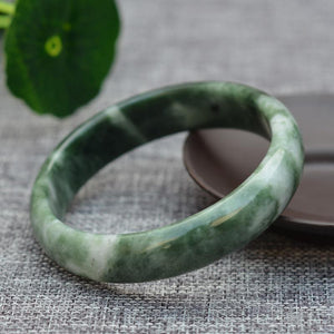 The Natural Jade Bangle Healing Bracelet - Soul Sound Baths