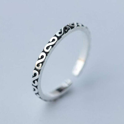 The Premium 925 Silver Infinity Ring - Soul Sound Baths