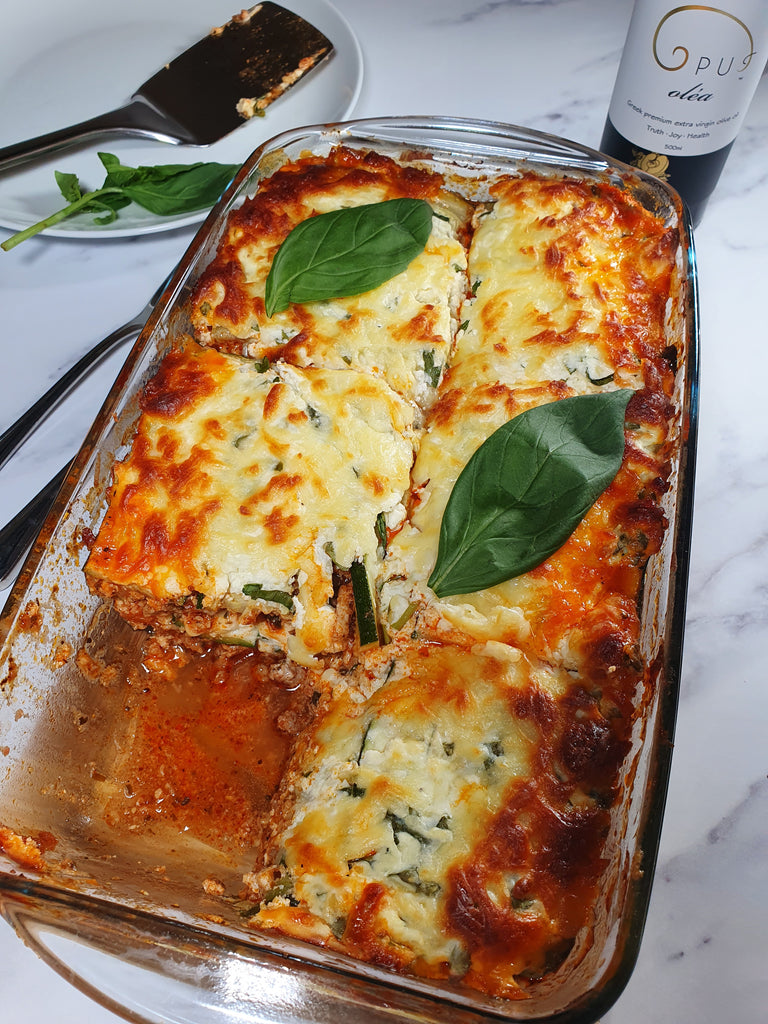 Virtuous and quick Lasagna