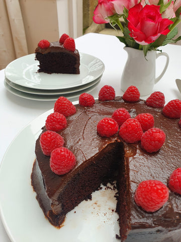 chocolate cake with extra virgin olive oil