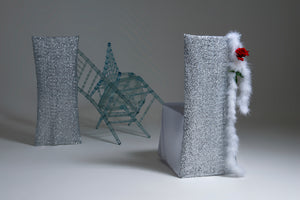 Sequin Chair Cover