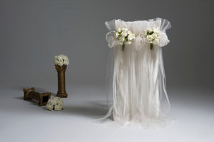 Tulle & Roses Chair Covers