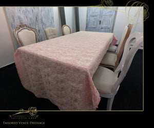 Luxurious Embroidered Table Covers