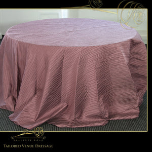 Purple Theme Table Covers