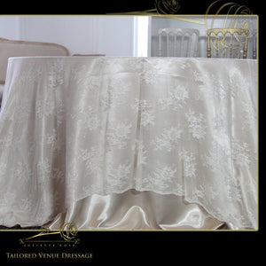 Bridal Lace Table Covers