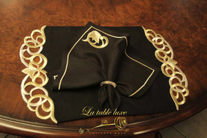 Gold Embroidered Place Mat