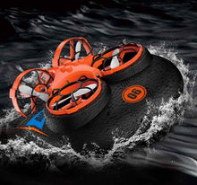 Load image into Gallery viewer, RC Hovercraft Drone 3-In-1 Air, Land & Water - PuraGlow