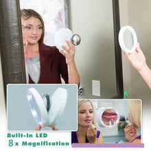 Load image into Gallery viewer, 360 LED Magnifying Mirror - PuraGlow