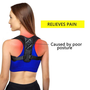Adjustable Brace Support Belt Back Posture Corrector - PuraGlow