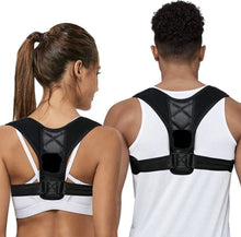 Load image into Gallery viewer, Adjustable Magnetic Back Support Posture Corrector - PuraGlow