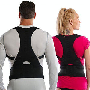 Adjustable Magnetic Back Support Posture Corrector - PuraGlow