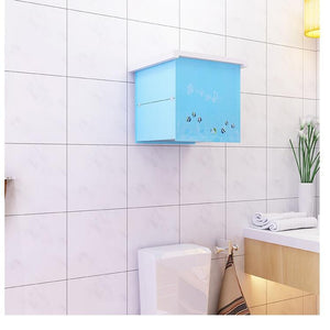 Bathroom Folding Storage Cabinet - PuraGlow