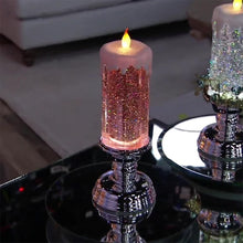 Load image into Gallery viewer, CandleSpark - Color Changing LED Water Candle With Glitters - PuraGlow