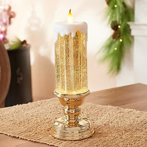 CandleSpark - Color Changing LED Water Candle With Glitters - PuraGlow