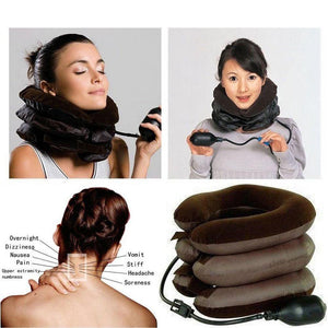 Expandable Pain-Relief Neck Pillow Collar - PuraGlow