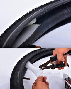 FlatlessTire - Bicycle Tire Inner Lining Puncture Protector - PuraGlow