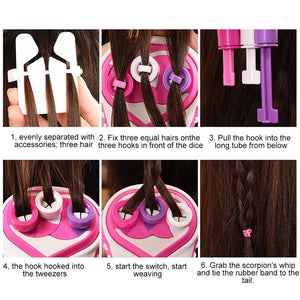 HairTwister - Automatic Hair Braider - PuraGlow