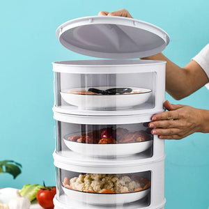 HeatFresh - Dust-Proof Temperature Preserving Insulated Food Tower - PuraGlow