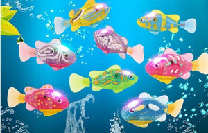 High quality Robot Fish (x 4 fishes) - PuraGlow