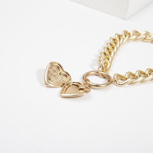 """I Love You"" Heart Choker with Secret Compartment - PuraGlow"
