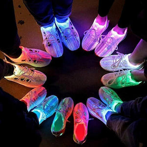 Luminous Fiber Sneakers - PuraGlow