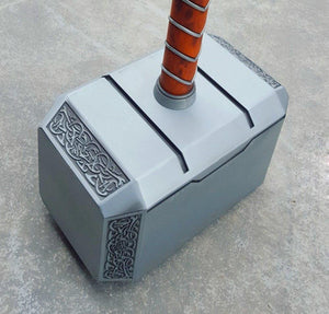 Mjolnir Thor Solid Adult Hammer Collectible Replica - PuraGlow