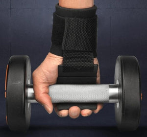 PowerLifer - Weight Lifting Wrist Hooks - PuraGlow