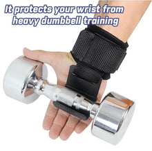 Load image into Gallery viewer, PowerLifer - Weight Lifting Wrist Hooks - PuraGlow