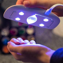 Load image into Gallery viewer, PuraGlow™ Portable LED Nail Dryer - PuraGlow