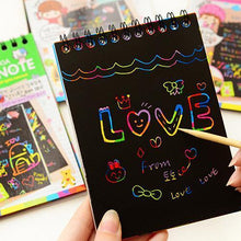 Load image into Gallery viewer, Scratch-Off Magic Rainbow Notebook - PuraGlow