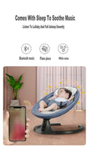 Load image into Gallery viewer, Smart Baby Swing Toddler Rocking Chair - PuraGlow