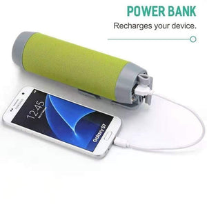 Smart Can - Multifunctional Wireless Speaker, Power Bank, Selfie Stick and Phone Mount - PuraGlow