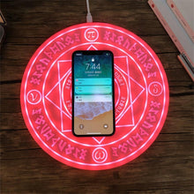 Load image into Gallery viewer, Spell Circle  Wireless Charger - PuraGlow