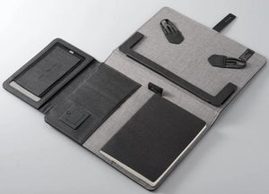 TravelPad - Multifunctional Padfolio With Wireless Power Bank - PuraGlow