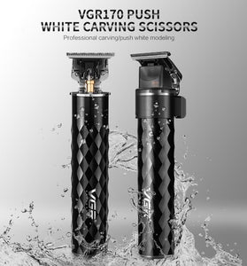 VGR Professional Beard Trimmer - PuraGlow